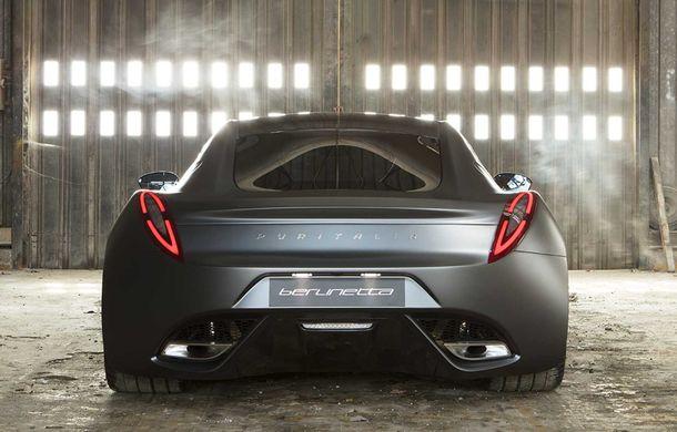 Puritalia Berlinetta, expus la Geneva: un GT echipat cu sistem de propulsie plug-in hybrid cu peste 970 CP - Poza 4