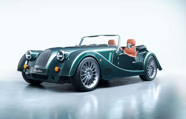 Morgan Plus Six: design retro, arhitectură nouă și motor de 3.0 litri cu 340 CP împrumutat din gama BMW - Poza 1