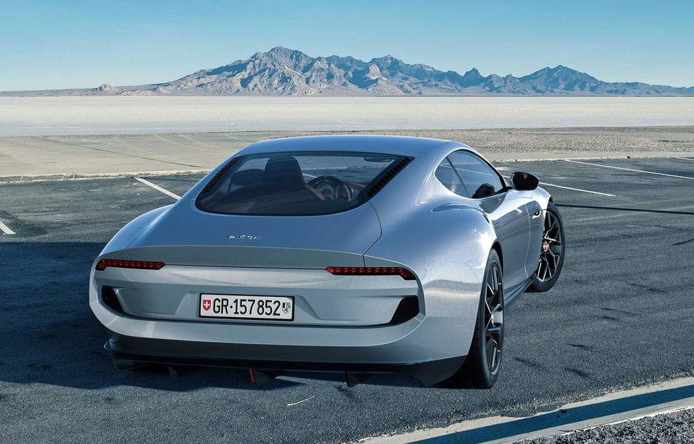 Piëch Automotive prezintă conceptul electric Mark Zero: prototipul integrează un nou tip de baterii care pot înmagazina 80% din energia totală în mai puțin de 5 minute - Poza 4