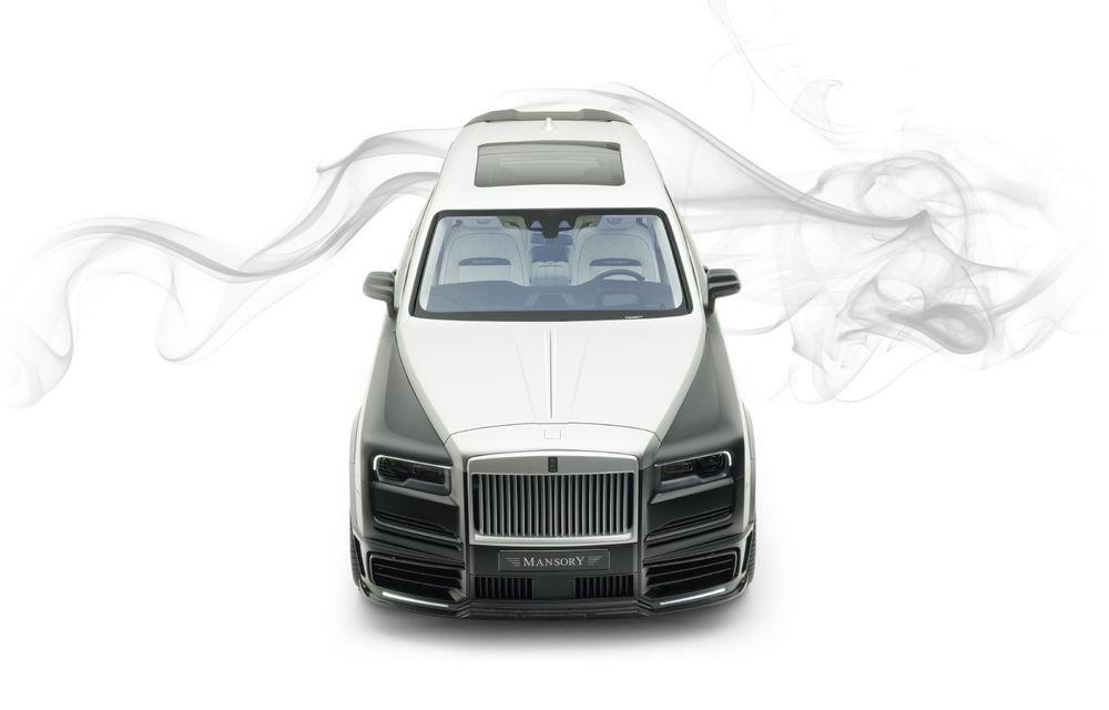 Rolls-Royce Cullinan Billionaire: cel mai scump SUV din lume primește îmbunătățiri din partea tunerului Mansory - Poza 4