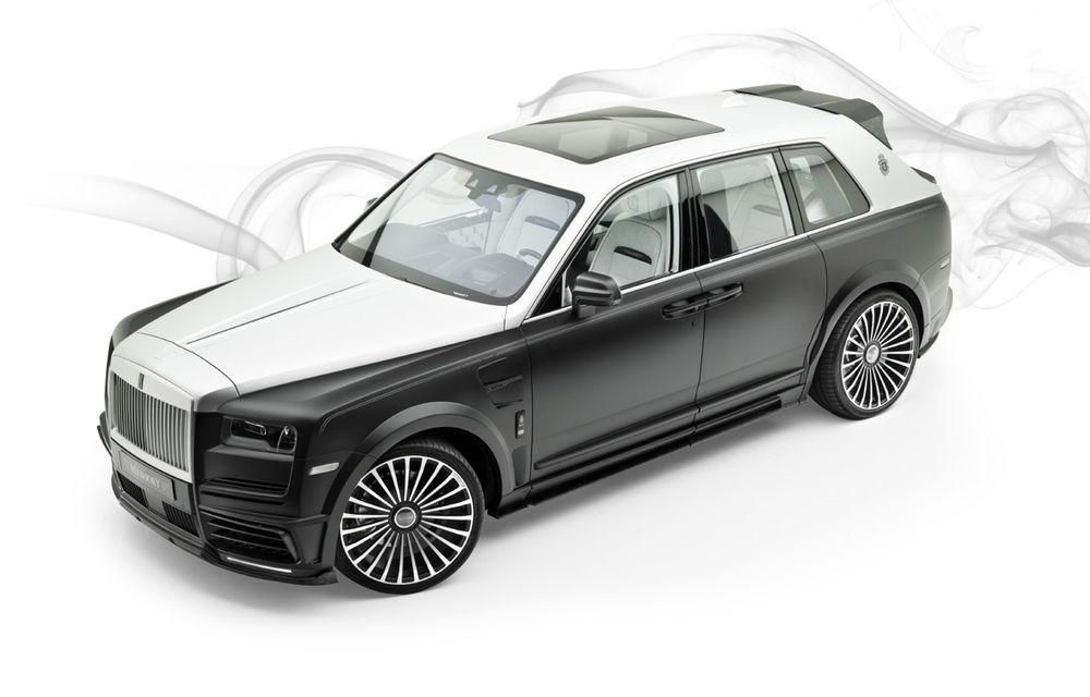 Rolls-Royce Cullinan Billionaire: cel mai scump SUV din lume primește îmbunătățiri din partea tunerului Mansory - Poza 1