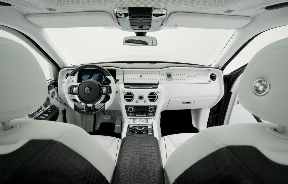 Rolls-Royce Cullinan Billionaire: cel mai scump SUV din lume primește îmbunătățiri din partea tunerului Mansory - Poza 7