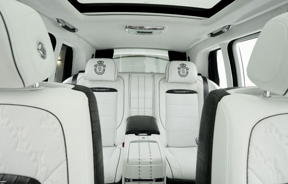 Rolls-Royce Cullinan Billionaire: cel mai scump SUV din lume primește îmbunătățiri din partea tunerului Mansory - Poza 9