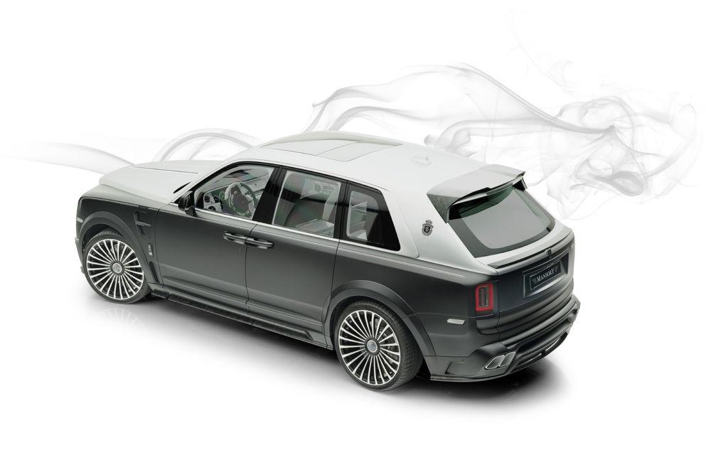 Rolls-Royce Cullinan Billionaire: cel mai scump SUV din lume primește îmbunătățiri din partea tunerului Mansory - Poza 3