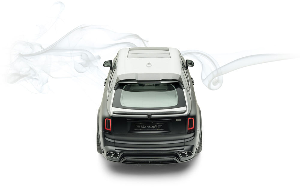 Rolls-Royce Cullinan Billionaire: cel mai scump SUV din lume primește îmbunătățiri din partea tunerului Mansory - Poza 5