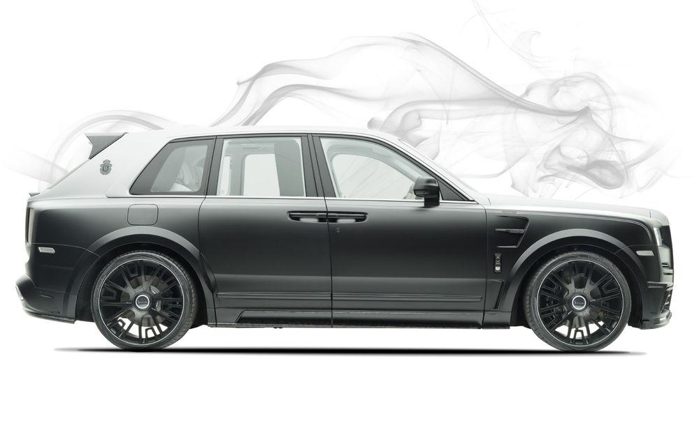 Rolls-Royce Cullinan Billionaire: cel mai scump SUV din lume primește îmbunătățiri din partea tunerului Mansory - Poza 6