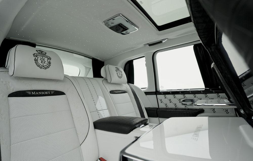 Rolls-Royce Cullinan Billionaire: cel mai scump SUV din lume primește îmbunătățiri din partea tunerului Mansory - Poza 8