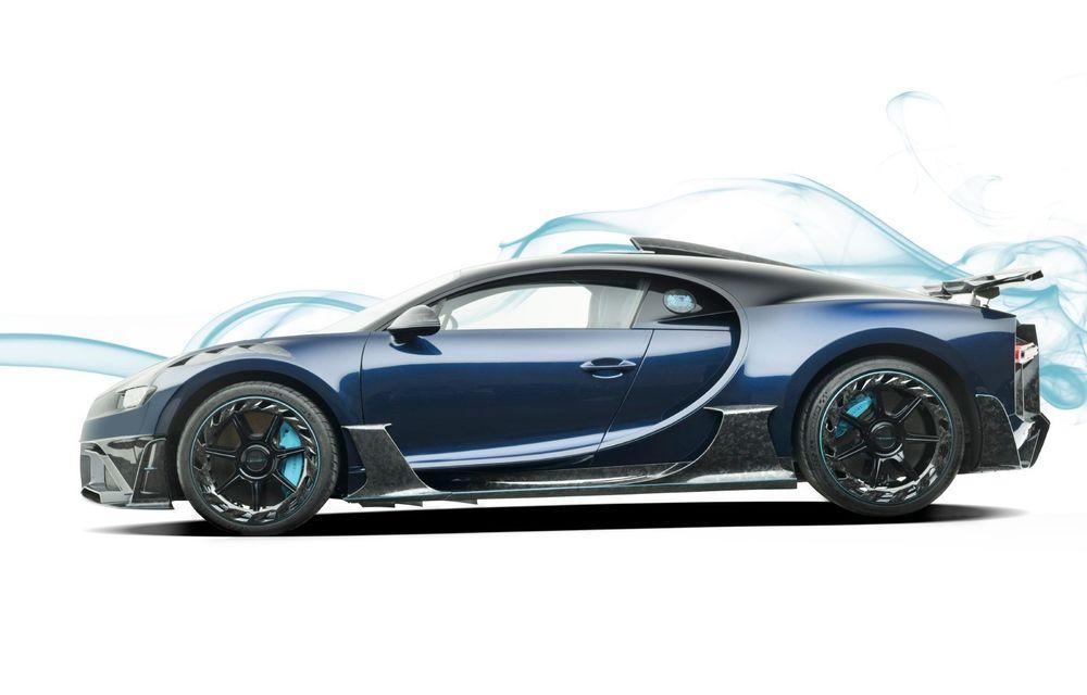 Mansory Centuria: primul tuning exterior pentru Bugatti Chiron propune accesorii de caroserie din fibră de carbon - Poza 5