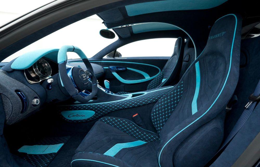 Mansory Centuria: primul tuning exterior pentru Bugatti Chiron propune accesorii de caroserie din fibră de carbon - Poza 9