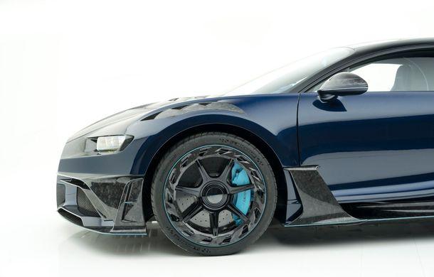 Mansory Centuria: primul tuning exterior pentru Bugatti Chiron propune accesorii de caroserie din fibră de carbon - Poza 7