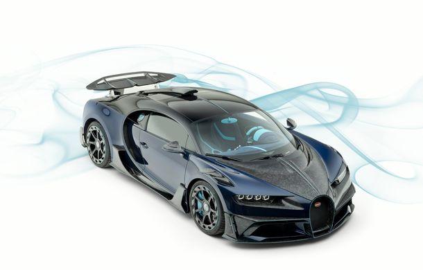 Mansory Centuria: primul tuning exterior pentru Bugatti Chiron propune accesorii de caroserie din fibră de carbon - Poza 3