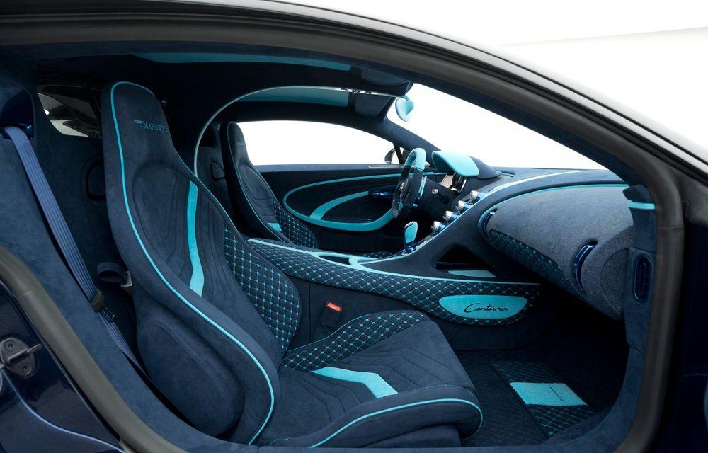 Mansory Centuria: primul tuning exterior pentru Bugatti Chiron propune accesorii de caroserie din fibră de carbon - Poza 10
