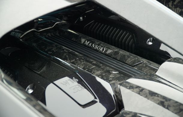 Mansory Centuria: primul tuning exterior pentru Bugatti Chiron propune accesorii de caroserie din fibră de carbon - Poza 8