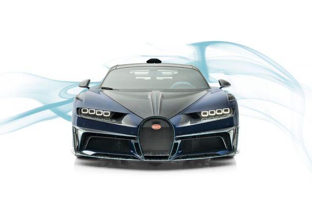 Mansory Centuria: primul tuning exterior pentru Bugatti Chiron propune accesorii de caroserie din fibră de carbon - Poza 4