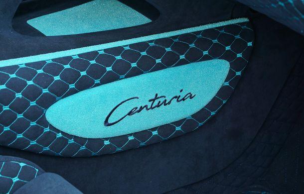 Mansory Centuria: primul tuning exterior pentru Bugatti Chiron propune accesorii de caroserie din fibră de carbon - Poza 11
