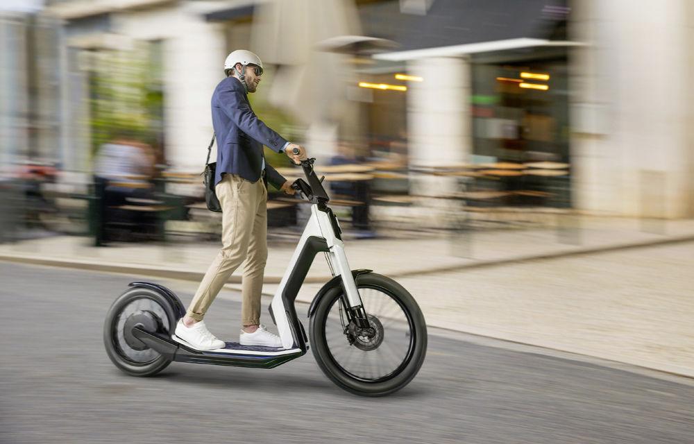 Alternative la utilizarea mașinii în oraș: Volkswagen prezintă două concepte de scutere electrice - Poza 5