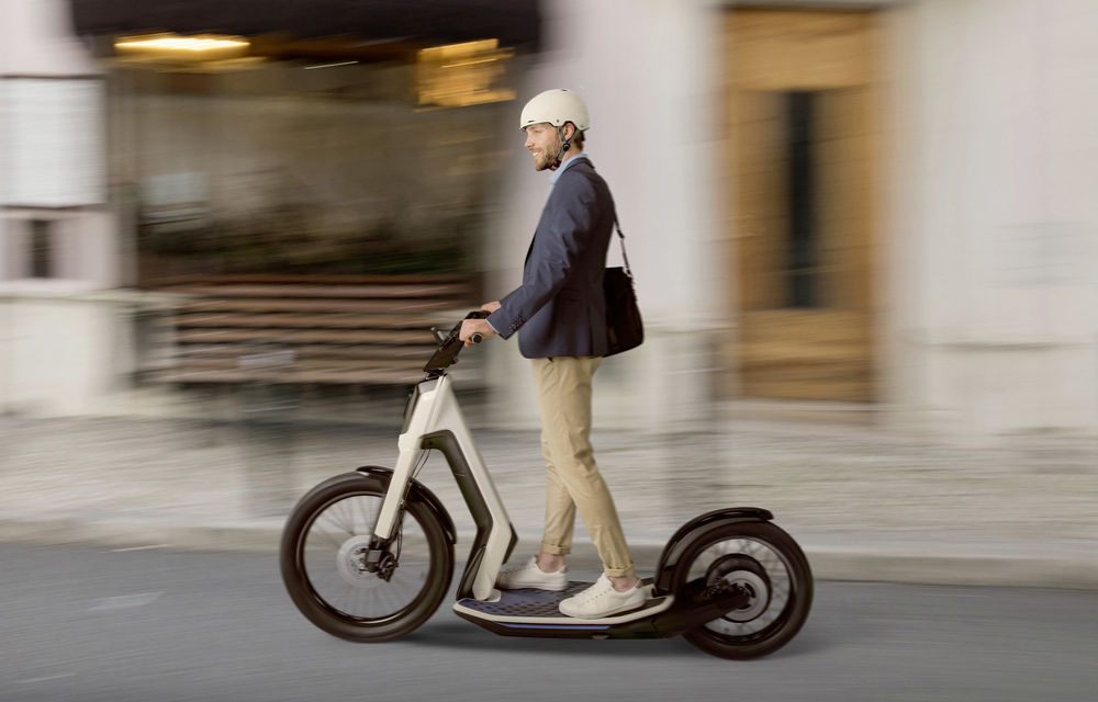 Alternative la utilizarea mașinii în oraș: Volkswagen prezintă două concepte de scutere electrice - Poza 4