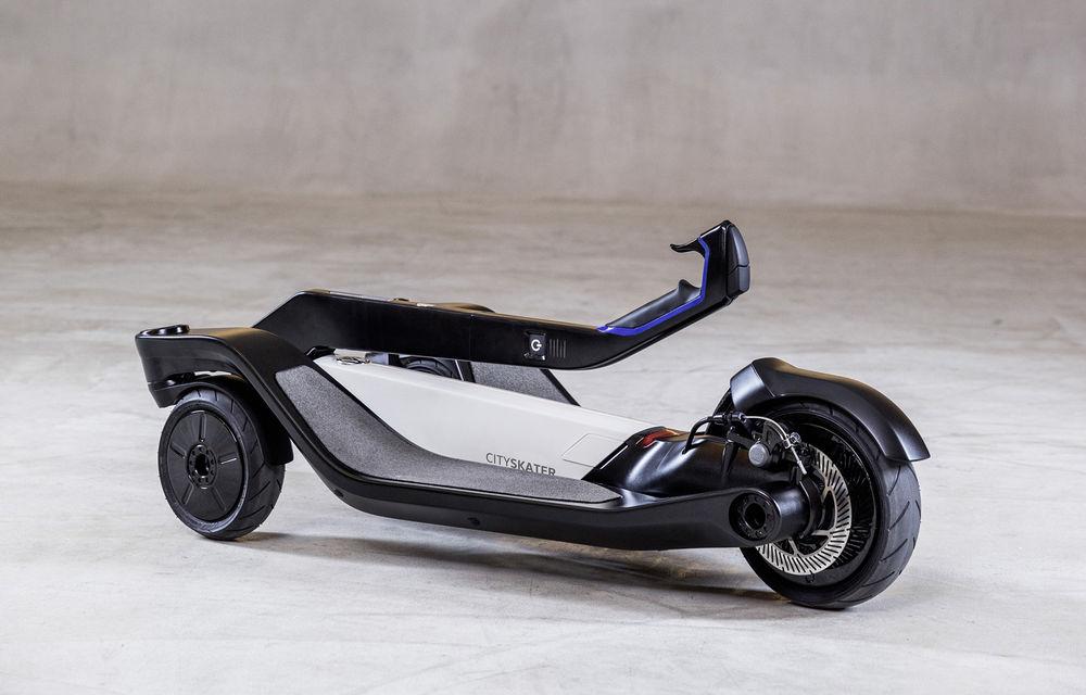Alternative la utilizarea mașinii în oraș: Volkswagen prezintă două concepte de scutere electrice - Poza 8