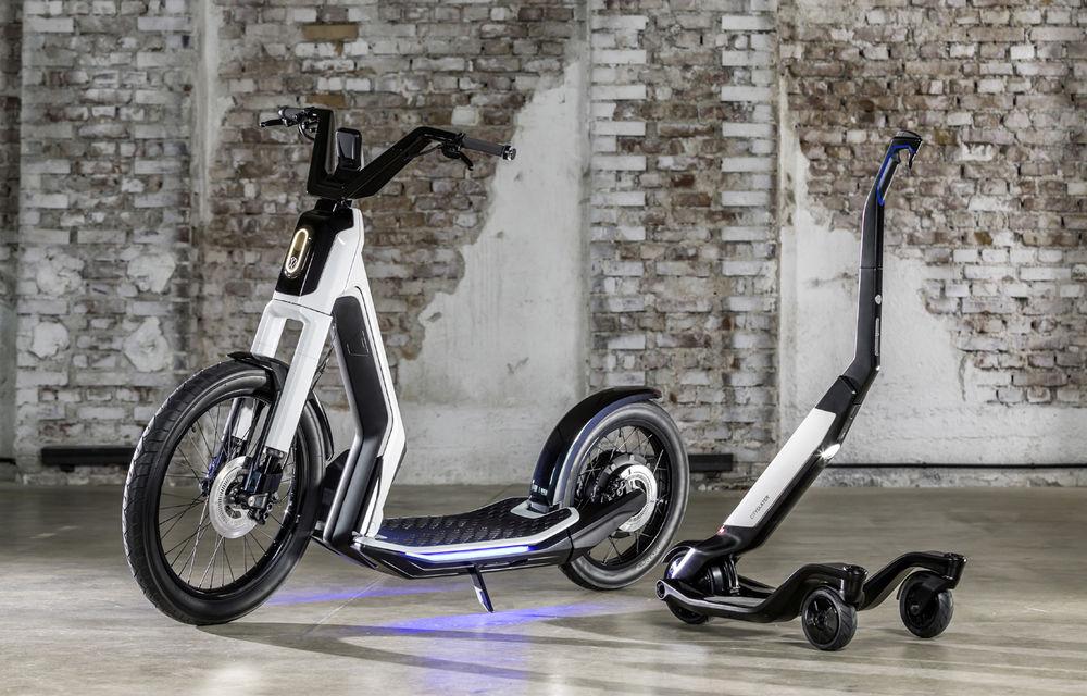 Alternative la utilizarea mașinii în oraș: Volkswagen prezintă două concepte de scutere electrice - Poza 1