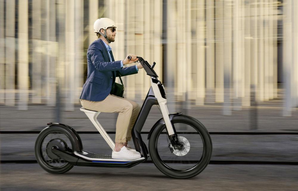Alternative la utilizarea mașinii în oraș: Volkswagen prezintă două concepte de scutere electrice - Poza 6