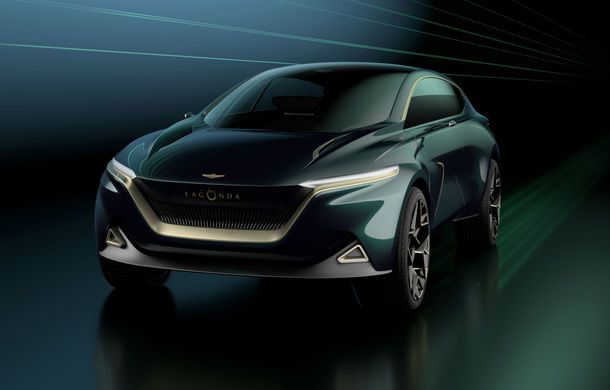 Aston Martin All-Terrain Concept anunță un viitor SUV electric sub brandul Lagonda: autonomie de 650 de kilometri și producție programată în 2022 - Poza 1