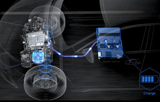 Nissan va introduce în Europa în 2022 sistemul de propulsie e-Power: motor electric și baterie alimentată de la un motor pe benzină - Poza 1