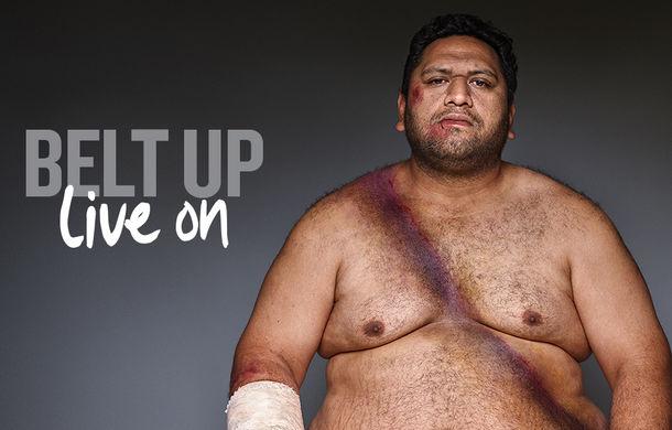 Campanie inedită de siguranță rutieră în Noua Zeelandă: pictorial cu zece supraviețuitori care au purtat centura de siguranță - Poza 7
