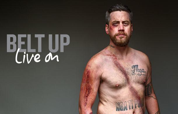 Campanie inedită de siguranță rutieră în Noua Zeelandă: pictorial cu zece supraviețuitori care au purtat centura de siguranță - Poza 6