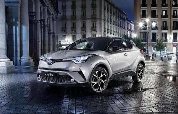 Toyota vrea să vândă un model electric în Europa, până în 2021: o variantă posibilă este versiunea electrică a SUV-ului CH-R - Poza 1