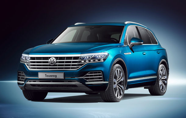 Volkswagen Touareg V6 TFSI poate fi comandat și în România: SUV-ul cu motor pe benzină de 340 CP pleacă de la 51.350 de euro - Poza 1