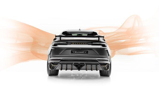 Mansory Venatus: tunerul german propune un pachet de caroserie pentru SUV-ul Lamborghini Urus - Poza 6