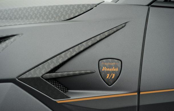 Mansory Venatus: tunerul german propune un pachet de caroserie pentru SUV-ul Lamborghini Urus - Poza 8