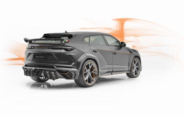 Mansory Venatus: tunerul german propune un pachet de caroserie pentru SUV-ul Lamborghini Urus - Poza 5