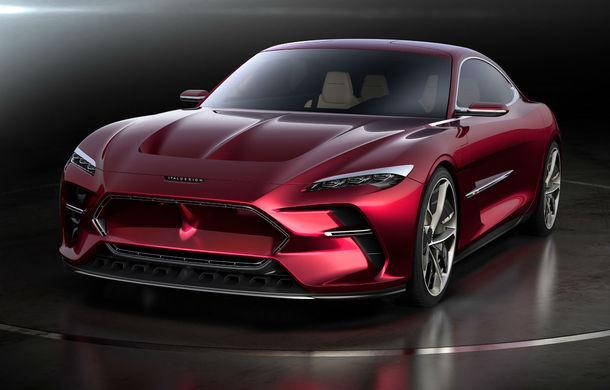 Italdesign DaVinci: italienii caută producător pentru acest concept al unui GT 100% electric - Poza 1