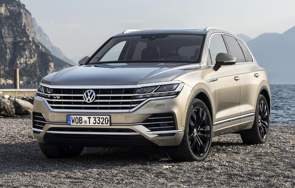 Volkswagen va renunța la motoarele diesel V8: Touareg va fi ultimul model cu acest tip de propulsor - Poza 1