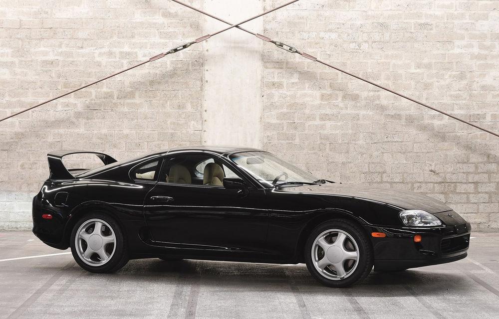 Un exemplar Toyota Supra din 1994 a fost vândut la licitație pentru 173.600 de dolari: modelul nipon are doar 18.000 de kilometri - Poza 1