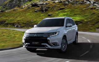 Mitsubishi Outlander PHEV, cel mai vândut plug-in hybrid din Europa în 2018: al patrulea an consecutiv pe prima poziție