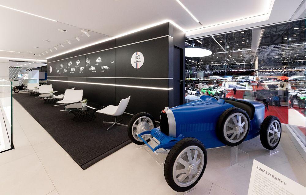 Bugatti lansează Baby II: vehiculul electric de mici dimensiuni are roți motrice spate, dezvoltă 13 CP și este inspirat de legendarul Type 35. - Poza 5