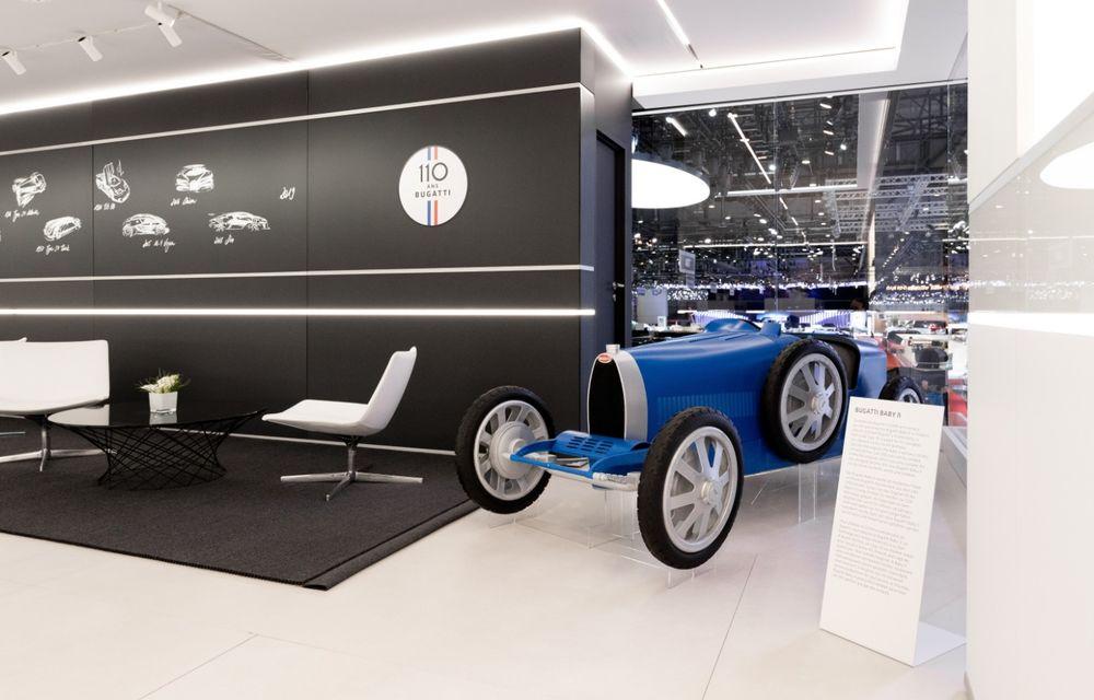 Bugatti lansează Baby II: vehiculul electric de mici dimensiuni are roți motrice spate, dezvoltă 13 CP și este inspirat de legendarul Type 35. - Poza 6