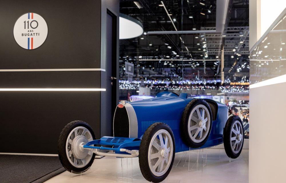 Bugatti lansează Baby II: vehiculul electric de mici dimensiuni are roți motrice spate, dezvoltă 13 CP și este inspirat de legendarul Type 35. - Poza 4