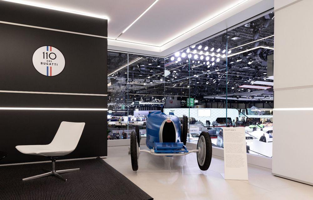 Bugatti lansează Baby II: vehiculul electric de mici dimensiuni are roți motrice spate, dezvoltă 13 CP și este inspirat de legendarul Type 35. - Poza 7