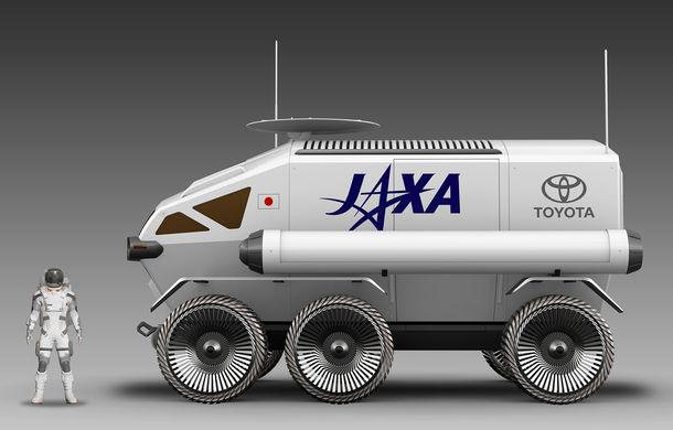Proiect inedit: Toyota ar putea dezvolta un rover lunar cu echipaj uman pentru agenția spațială japoneză - Poza 4