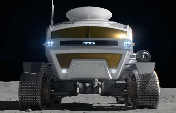 Proiect inedit: Toyota ar putea dezvolta un rover lunar cu echipaj uman pentru agenția spațială japoneză - Poza 3