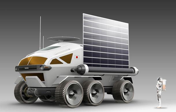 Proiect inedit: Toyota ar putea dezvolta un rover lunar cu echipaj uman pentru agenția spațială japoneză - Poza 5
