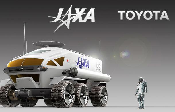 Proiect inedit: Toyota ar putea dezvolta un rover lunar cu echipaj uman pentru agenția spațială japoneză - Poza 7