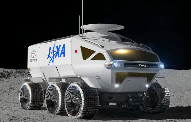 Proiect inedit: Toyota ar putea dezvolta un rover lunar cu echipaj uman pentru agenția spațială japoneză - Poza 1