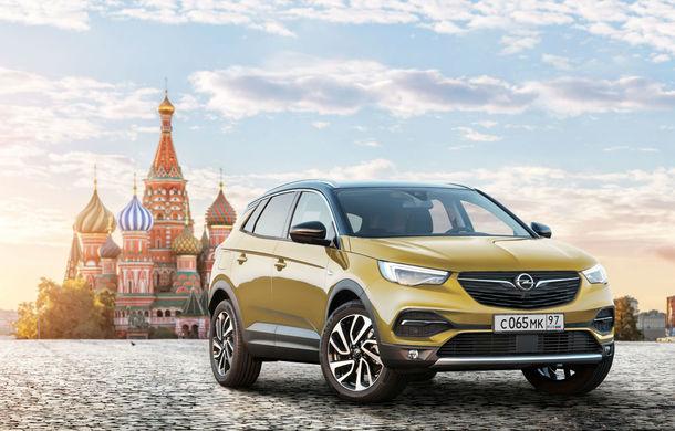 Opel revine oficial în Rusia cu Grandland X, Zafira Life și Vivaro: două dintre modele vor fi construite la uzina din Kaluga - Poza 1