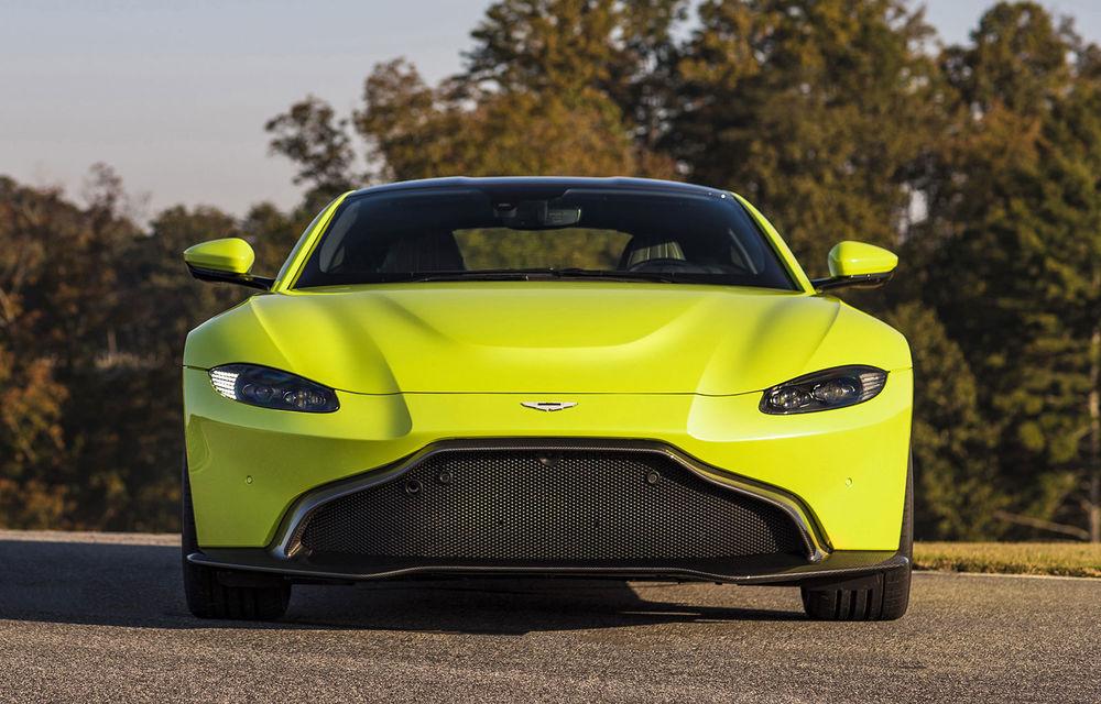 Aston Martin Vantage Roadster se lansează în 2019: modelul va împrumuta motorul de 510 CP de pe versiunea coupe - Poza 1