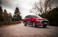 Test drive Mitsubishi  Outlander PHEV facelift