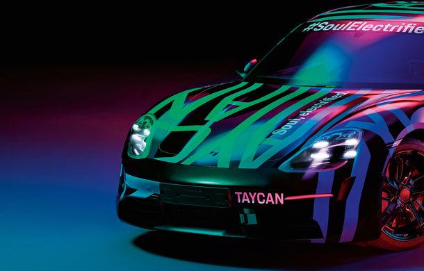 Teasere noi cu viitorul Porsche Taycan: primul model electric dezvoltat de constructorul din Stuttgart va fi prezentat în toamna acestui an - Poza 1